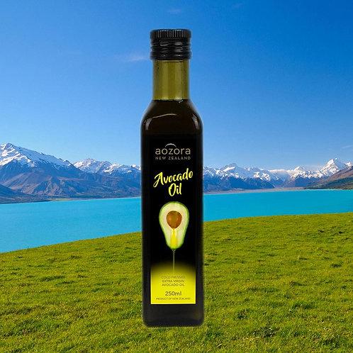 Масло авокадо Aozora New Zealand. Первый холодный отжим, 250мл