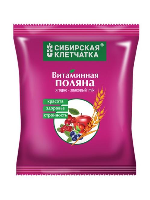 """Сибирская Клетчатка """"Витаминная поляна"""" пакет, 300гр."""