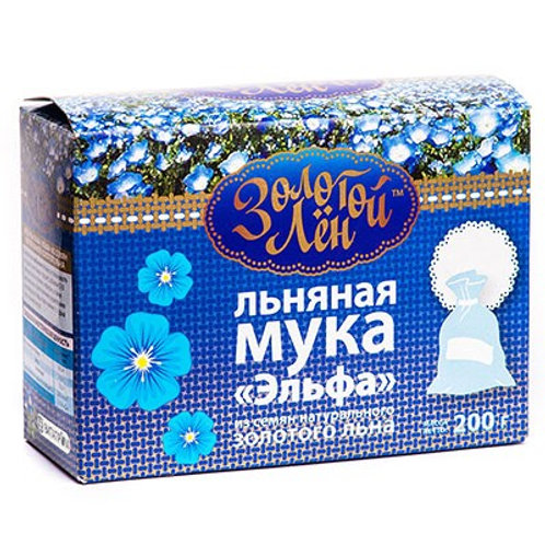 """Мука из семян белого льна """"Эльфа"""", 200гр"""