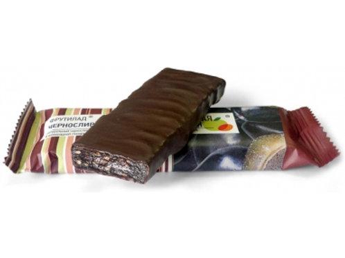 Батончик Фрутилад- чернослив в шоколаде, глазированный, 40гр.