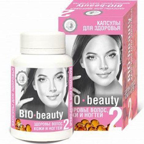 Смесь масел Здоровье волос, кожи и ногтей «BIO-beauty», 90 капс.