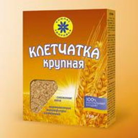 Клетчатка пшеничная крупная,  150 гр.