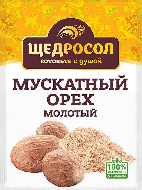 Мускатный орех молотый, 10гр