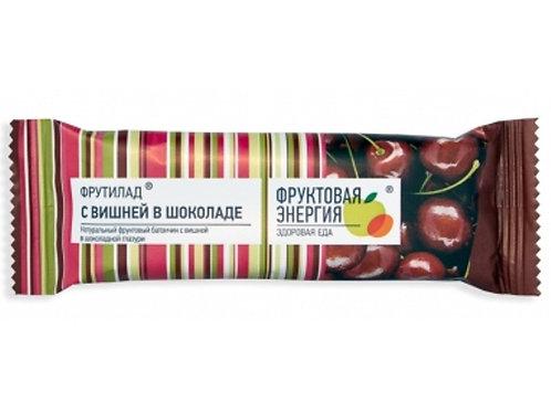 """Батончик """"Фрутилад вишня в шоколаде"""",  40гр"""