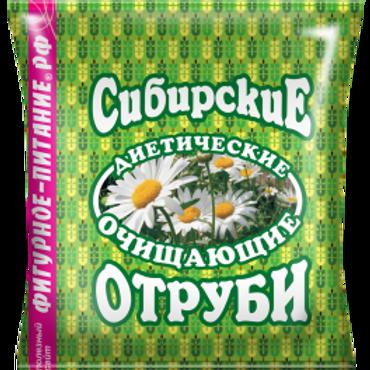 Отруби Пшеничные | очищающие,  Сибирские, 200г