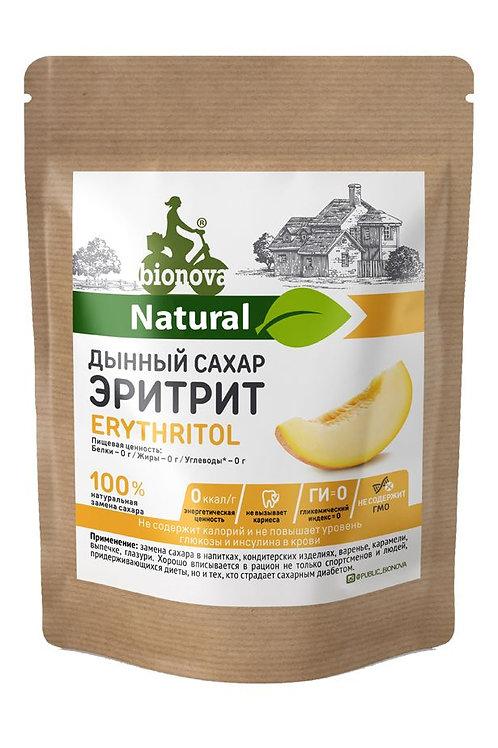 Эритрит-дынный сахар подсластитель, 200гр