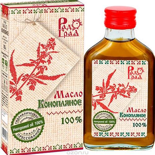 """Масло конопляное """"РадоГрад"""", 100гр."""