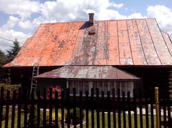 Renovace plechové střešní krytiny