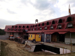 Renovace střechy hotelu