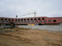 Renovace střešní krytiny hotelu