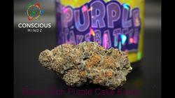 Purple Cake Batter