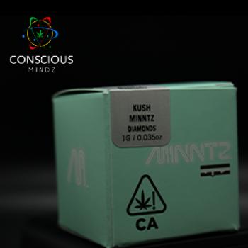 Minntz | Kush Minntz | 1g | Concerntrates | Diamond | Jar