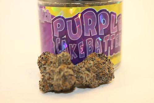 Richie Rich Purple Cake Batter