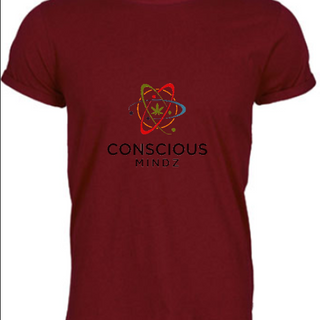CMZ Burgundy Shirt $25