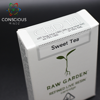 Raw Garden - Sweet Tea CBD 1:1