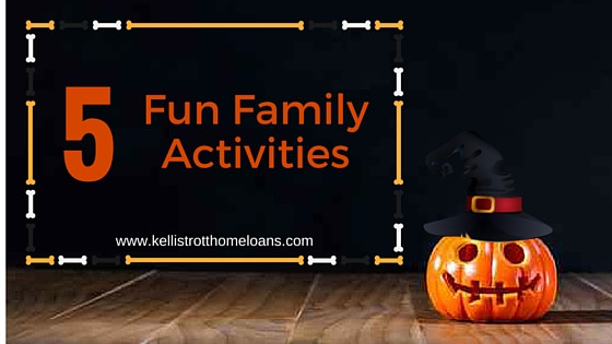 5 Fun Familiy Activites for Halloween