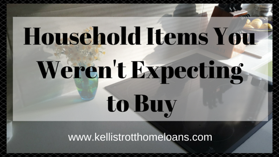 Household Items You Weren't Expecting to Buy