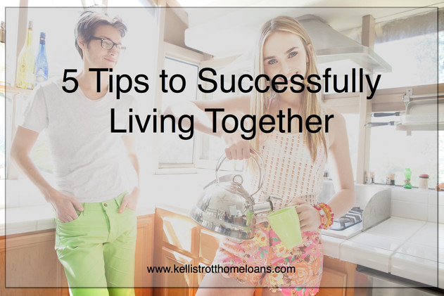 5 Tips to Successfully Living Together