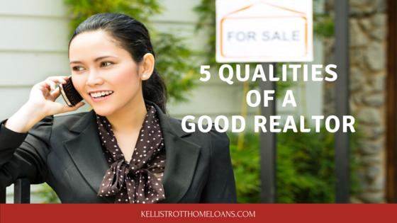 5 Qualities of a Good Realtor