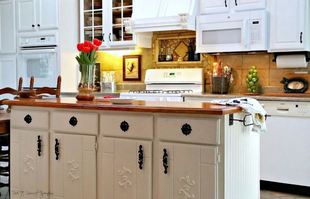 5 Ways to Spruce Up Your Out of Date Kitchen... for under $500 Bucks!