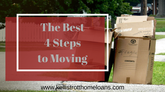The Best 4 Steps to Moving