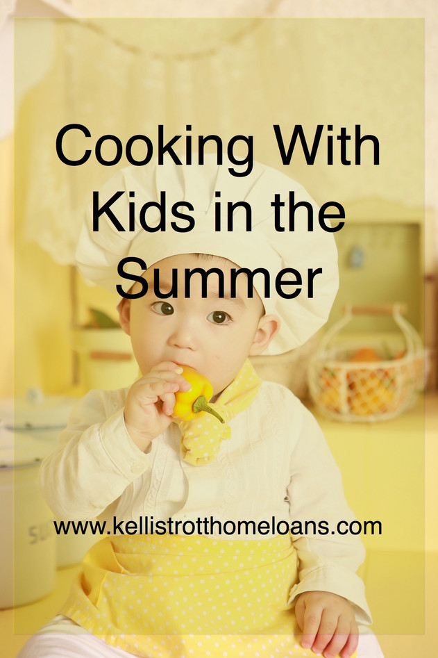 Cooking With Kids in the Summer