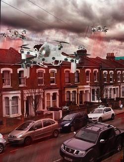 Red Rain drones