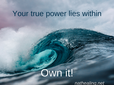 Reclaiming your power