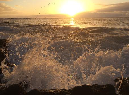 Declaring my truth of ocean spirit
