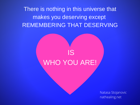 Channeling message - you are loved!