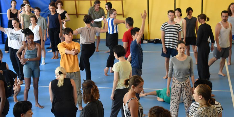 Percorsi di alta formazione: una settimana di classi con coreografi internazionali