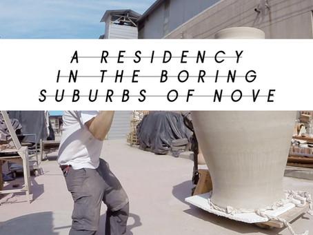 Nove: ai blocchi di partenza la residenza artistica di Nero/Alessandro Neretti