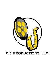CJ Productions LLC Logo Yellow