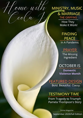 Home with Ceola J. Sept-Fall Edition 202