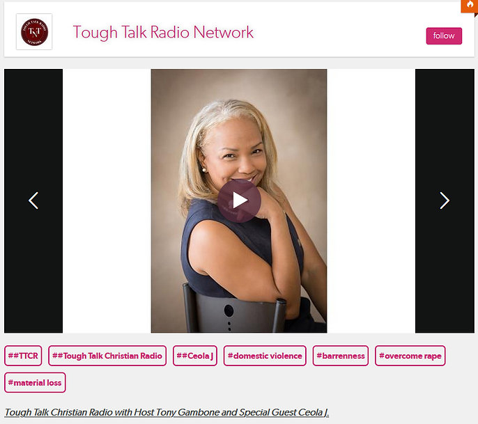 Tough Talk with Tony Gambone - Guest Ceo