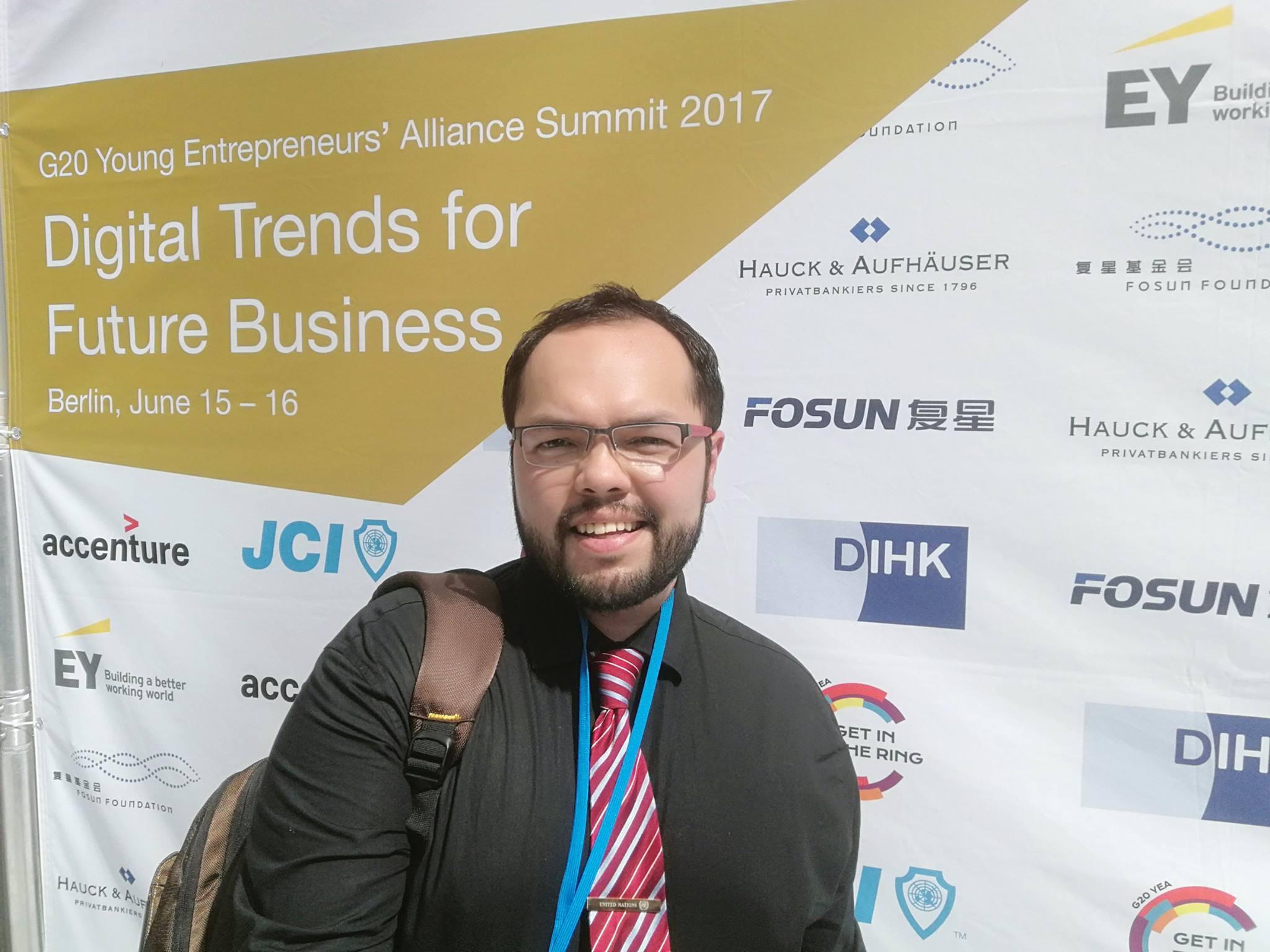 Participación en el G20 Alemania