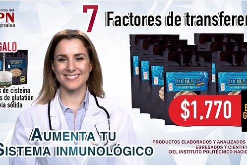 Paquete 7 Factores de transferencia IPN