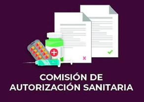 COMISIÓN DE AUTORIZACIÓN SANITARIA