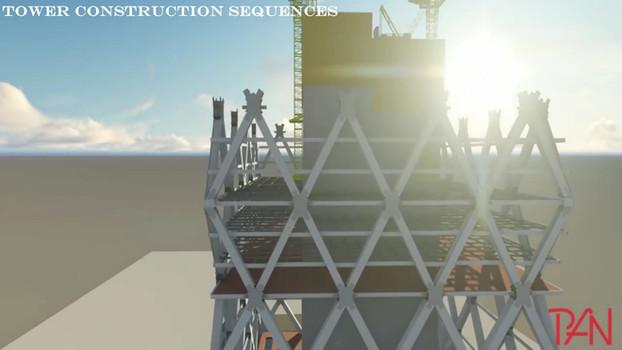 Super Structure 3D Construction Sequences
