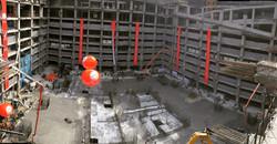 IIFC Tower, Mat Foundation