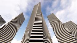 Mega Tall Complex Towers