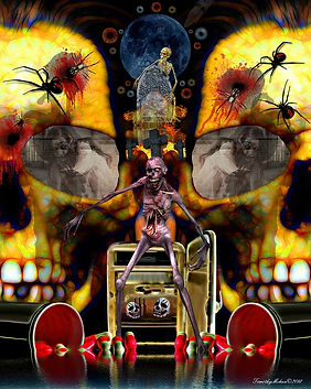 sendout  Welcome To My Nightmare - 16x20