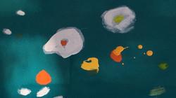 Fiori nell'acqua