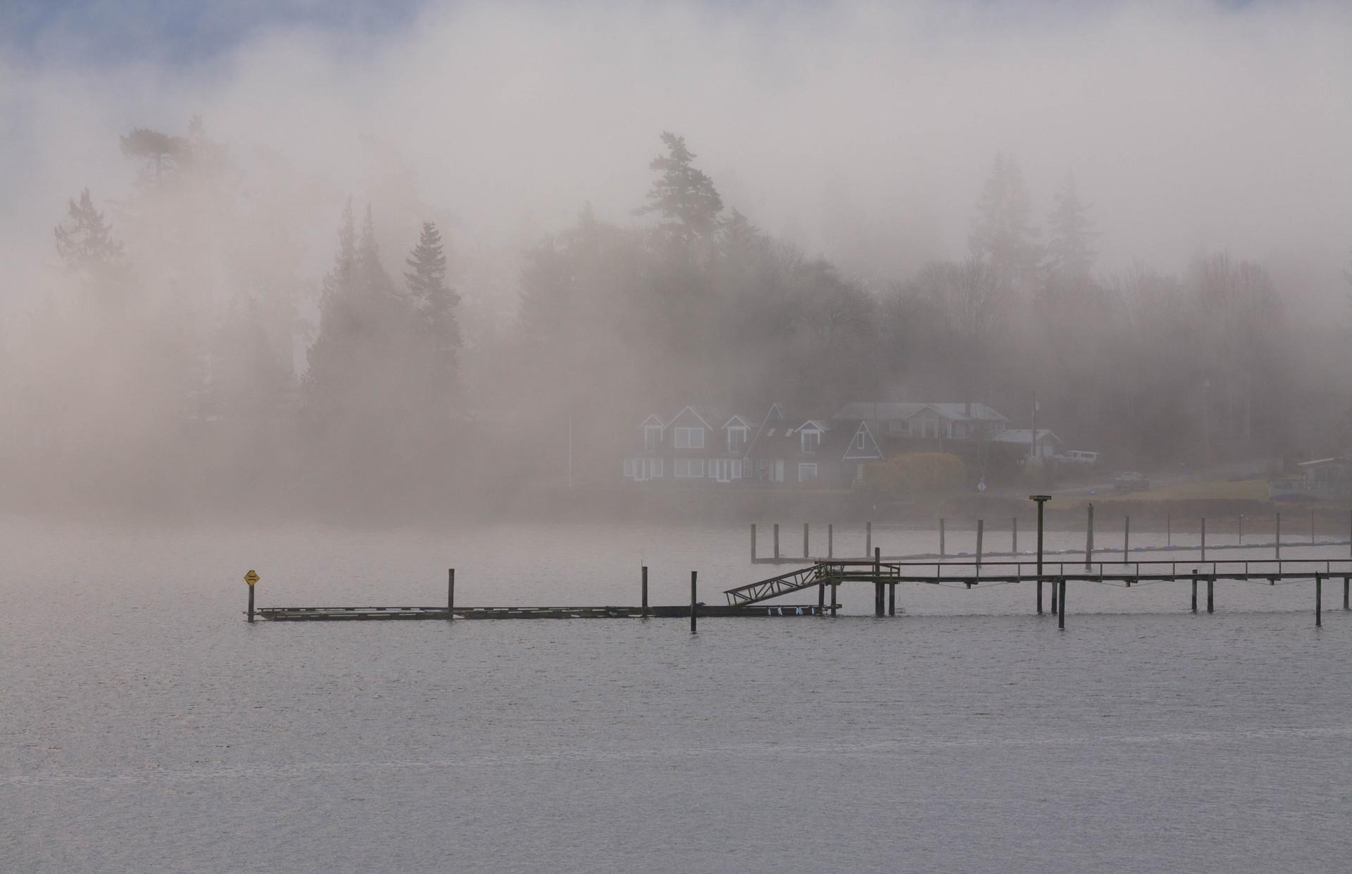 Foggy Sooke Harbour