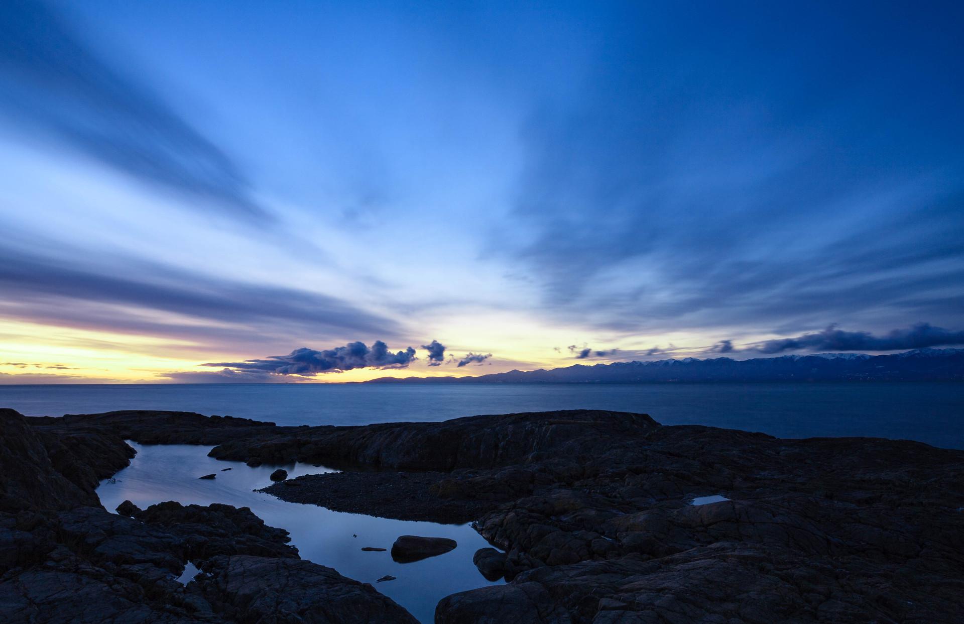 Tidepool at Dawn