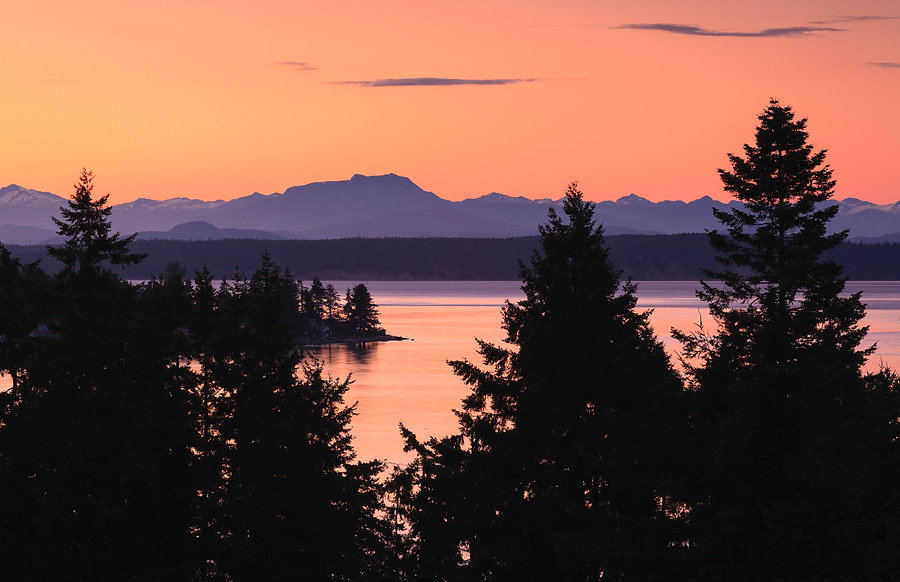 Photograph from Campbell River to Coast Range, British Columbia