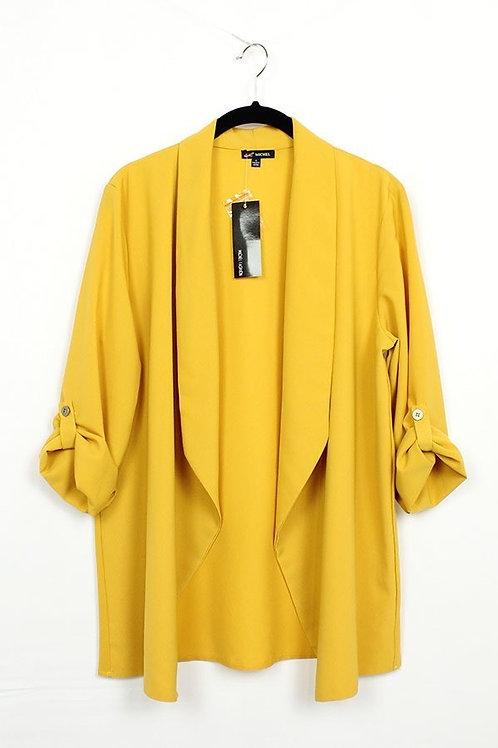 Fly Open Blazer (mustard)