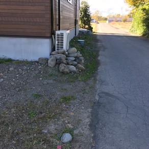 伊勢崎市外構工事 境界ブロック、フェンス