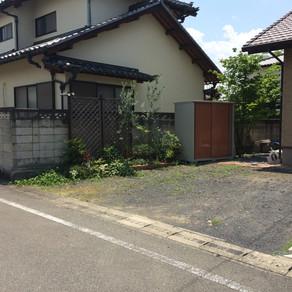 伊勢崎市 ガーデンリフォーム工事①