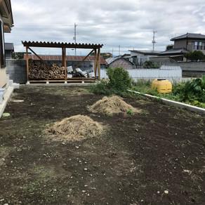 伊勢崎市ガーデン工事着工